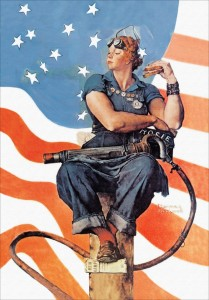 Rockwell's Rosie the Riveter