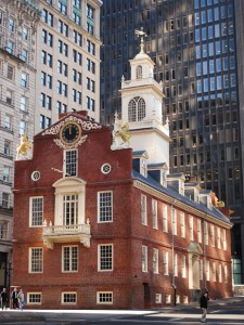Old State House, Boston, Massachusetts The Bostonian Society, digital editing by Amanda McCorkle