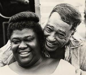 Elma Lewis with Duke Ellington