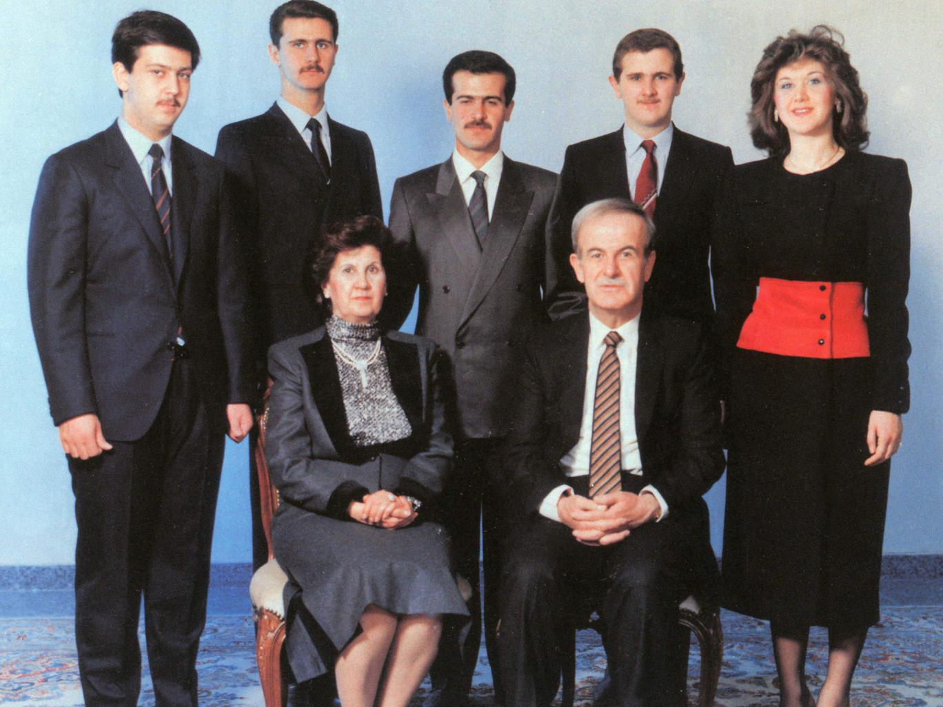 The Assad family prior to 1994