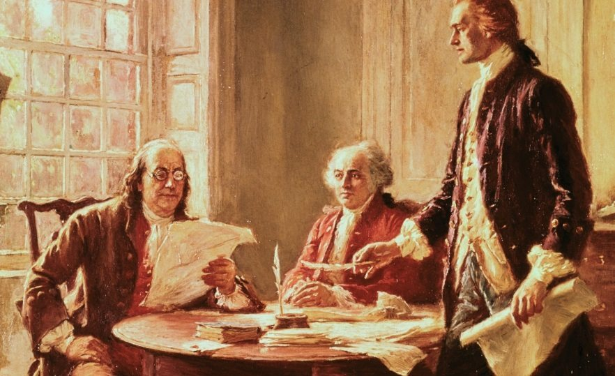 Founding Fathers painting