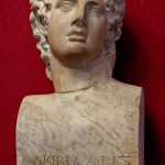 Bust of Alcibiades. Capitalize Museum, Rome