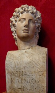 Bust of Alcibiades. Capitoline Museum, Rome