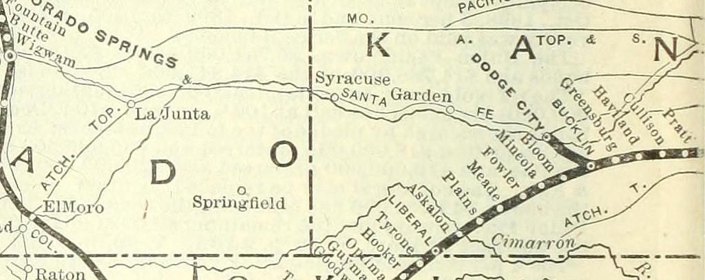 cimarron map