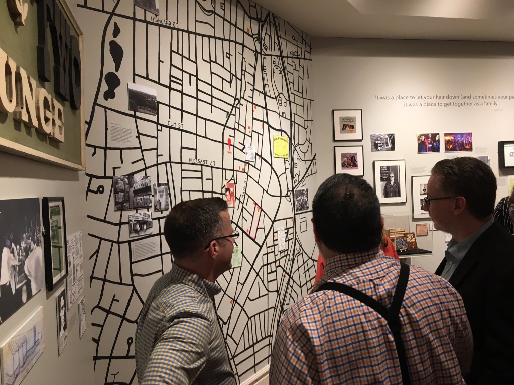 """Street map from """"For the Record."""" Photo: Katherine Stevens"""