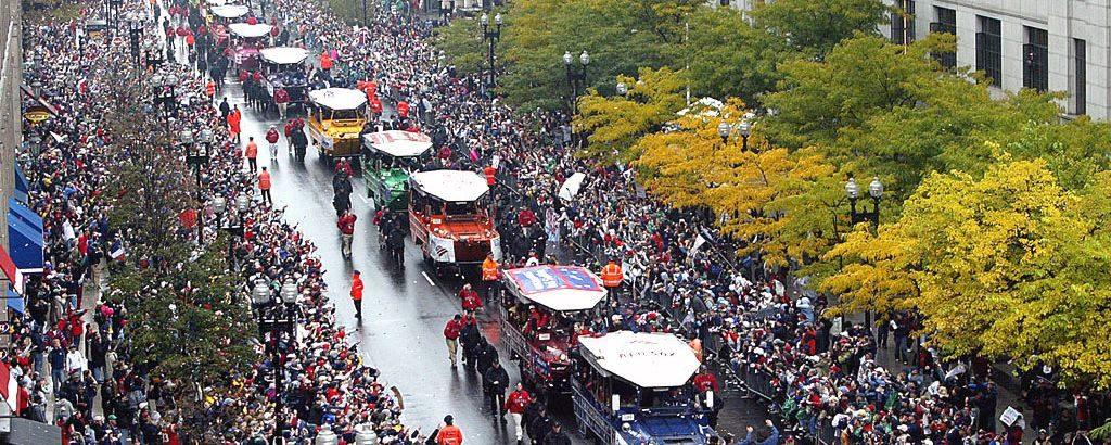Red Sox parade 2004