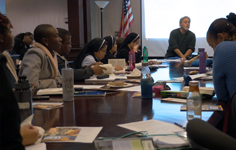 Inspiring Conversation: Inside a Clemente Course Classroom
