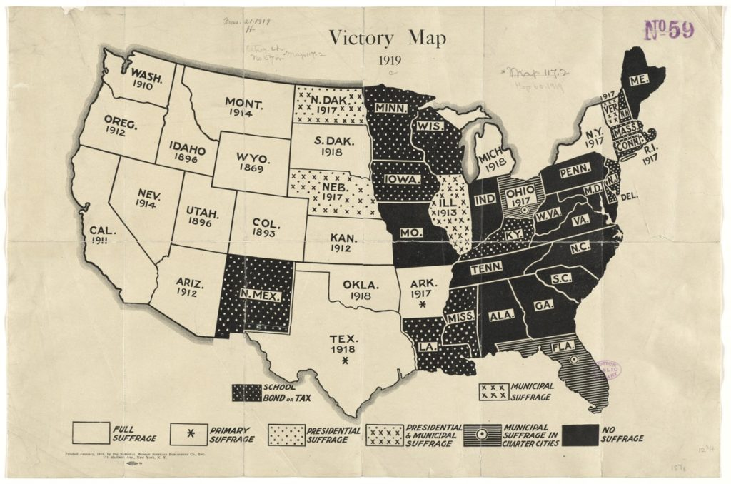 Victory Map, 1919