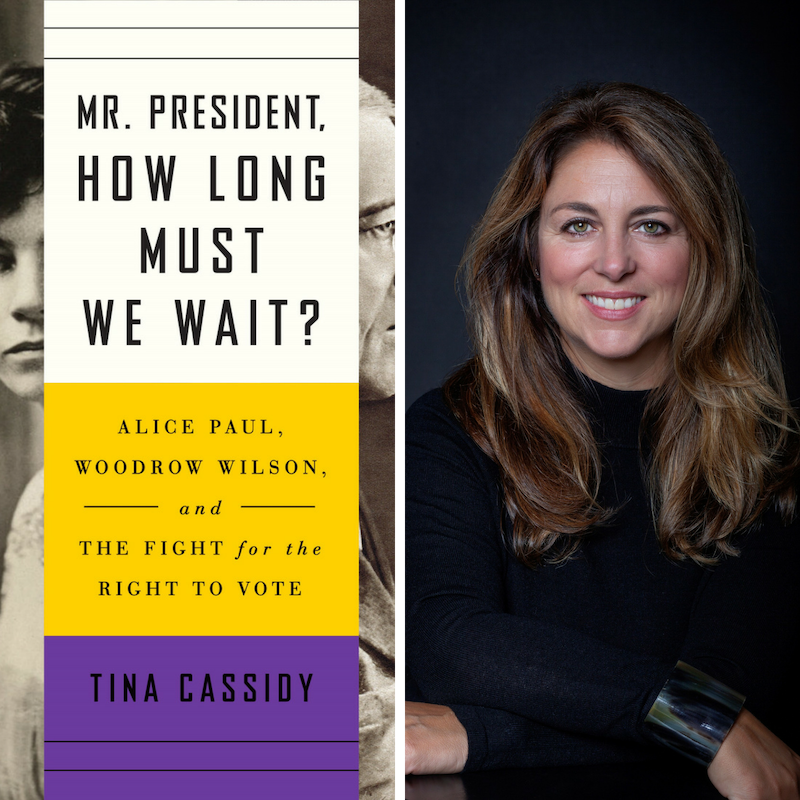 The Vote! Book discussion with author Tina Cassidy