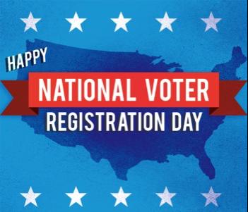 National Voter Registation Day Drive