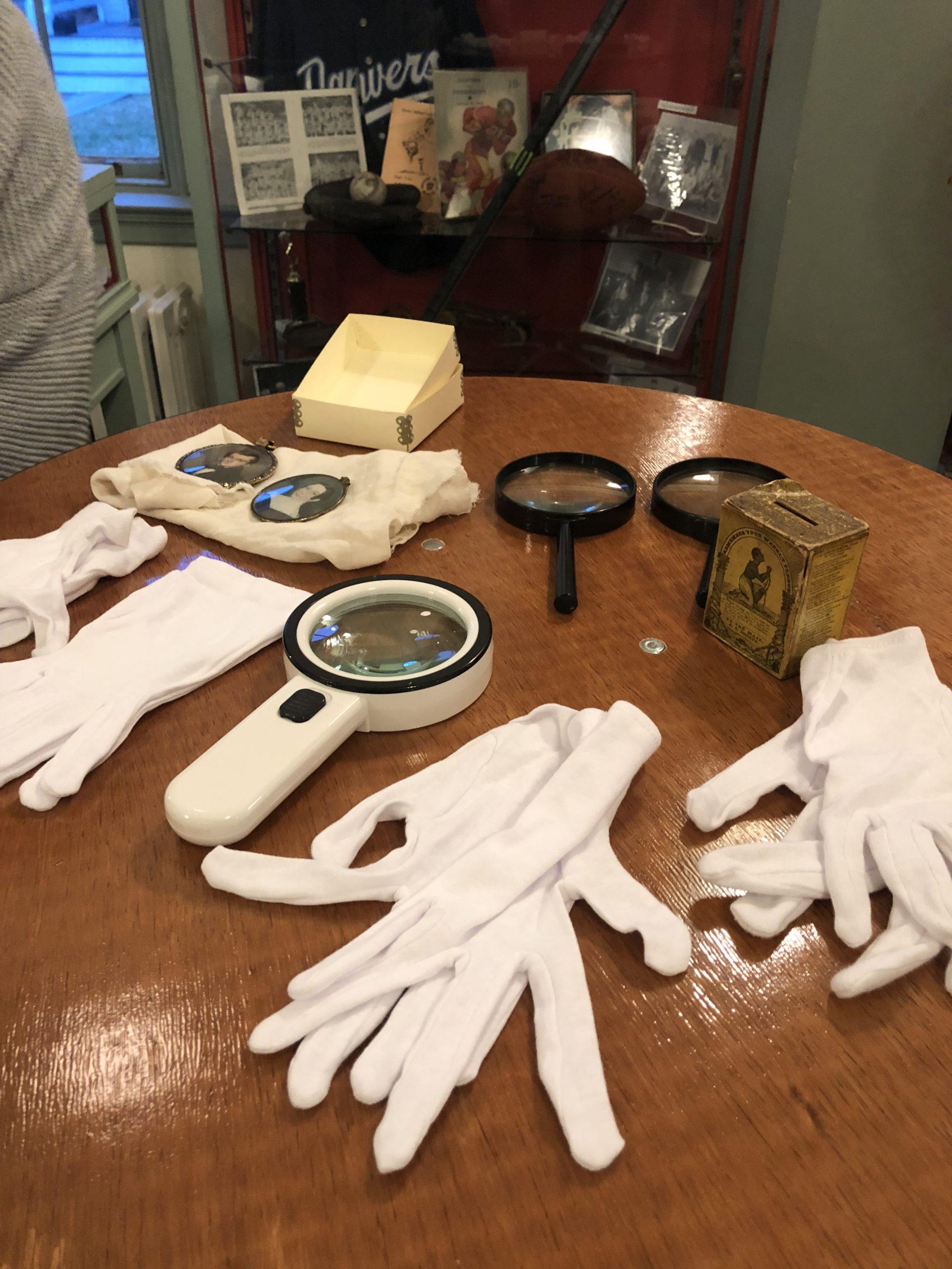 Facebook Live Salem State Artifacts Showing