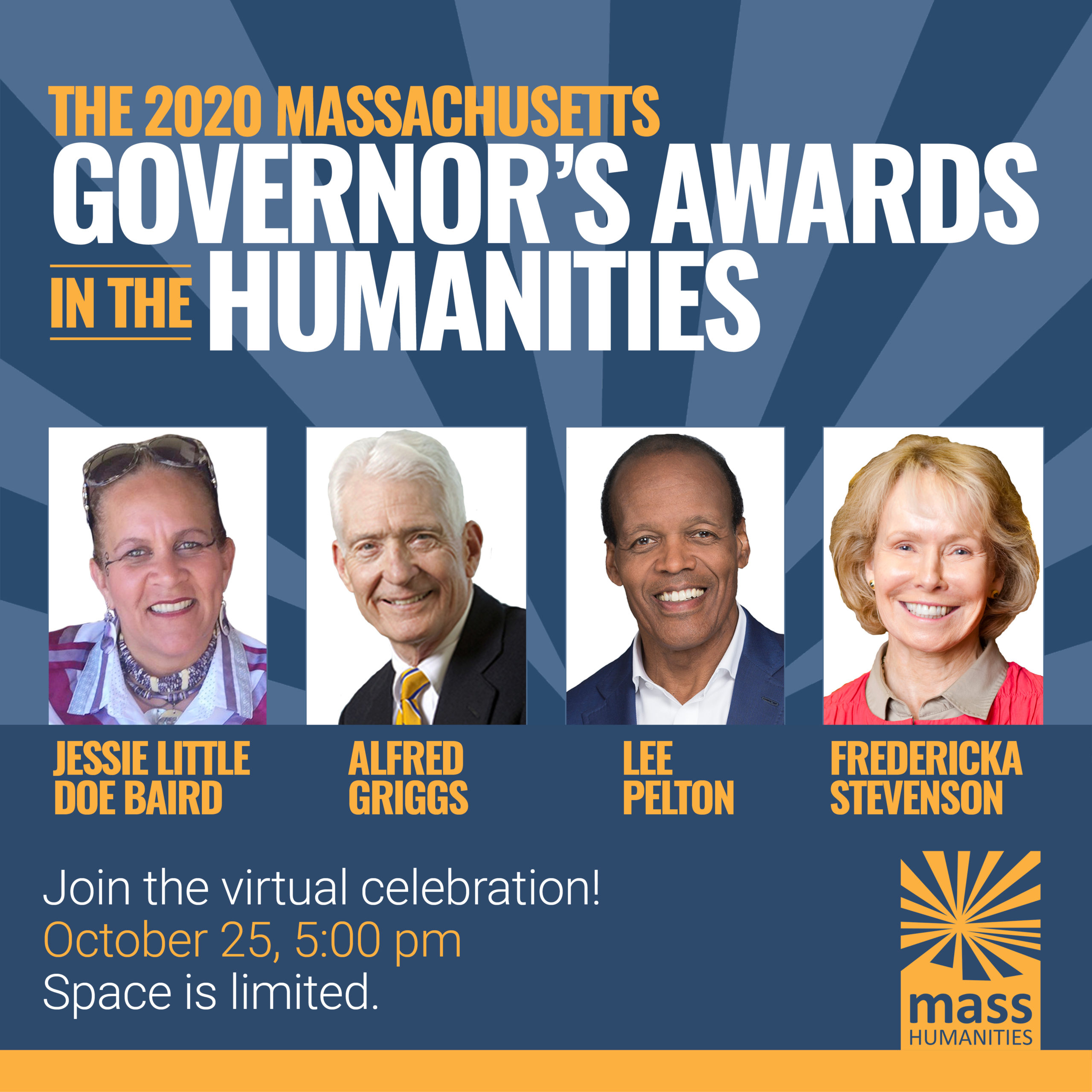 2020 Governor's Awards Registration