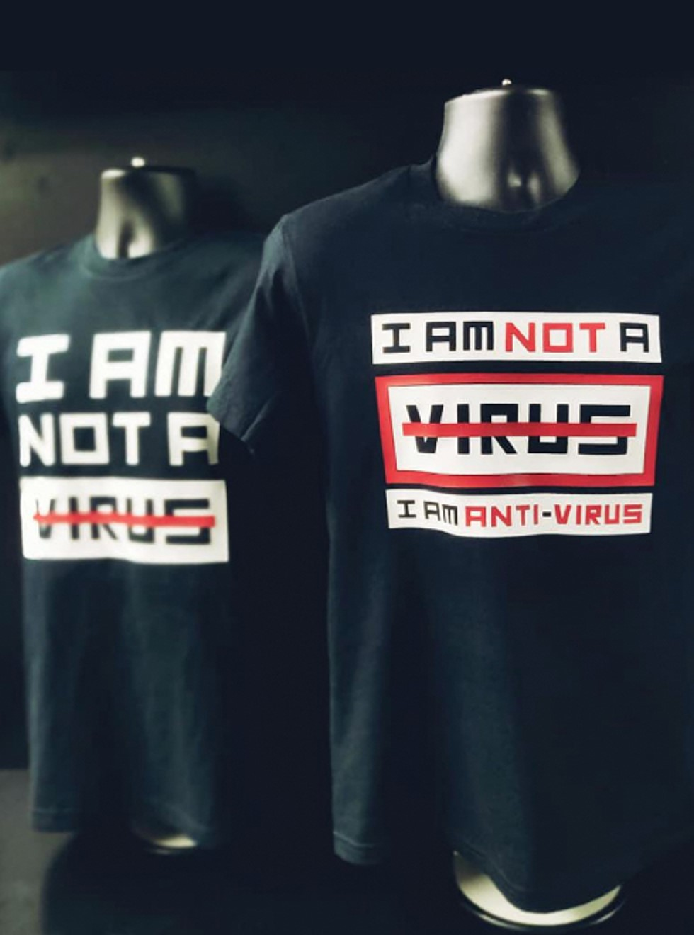 I'm Not a Virus, I'm a Human Being