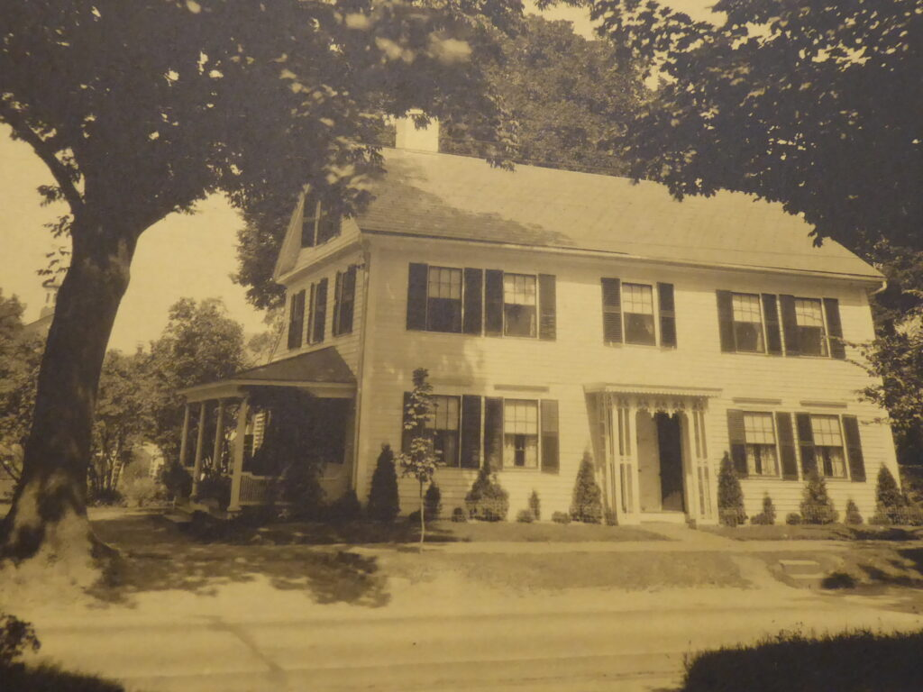 Shepherd House, circa 1932. Courtesy of Historic Northampton.