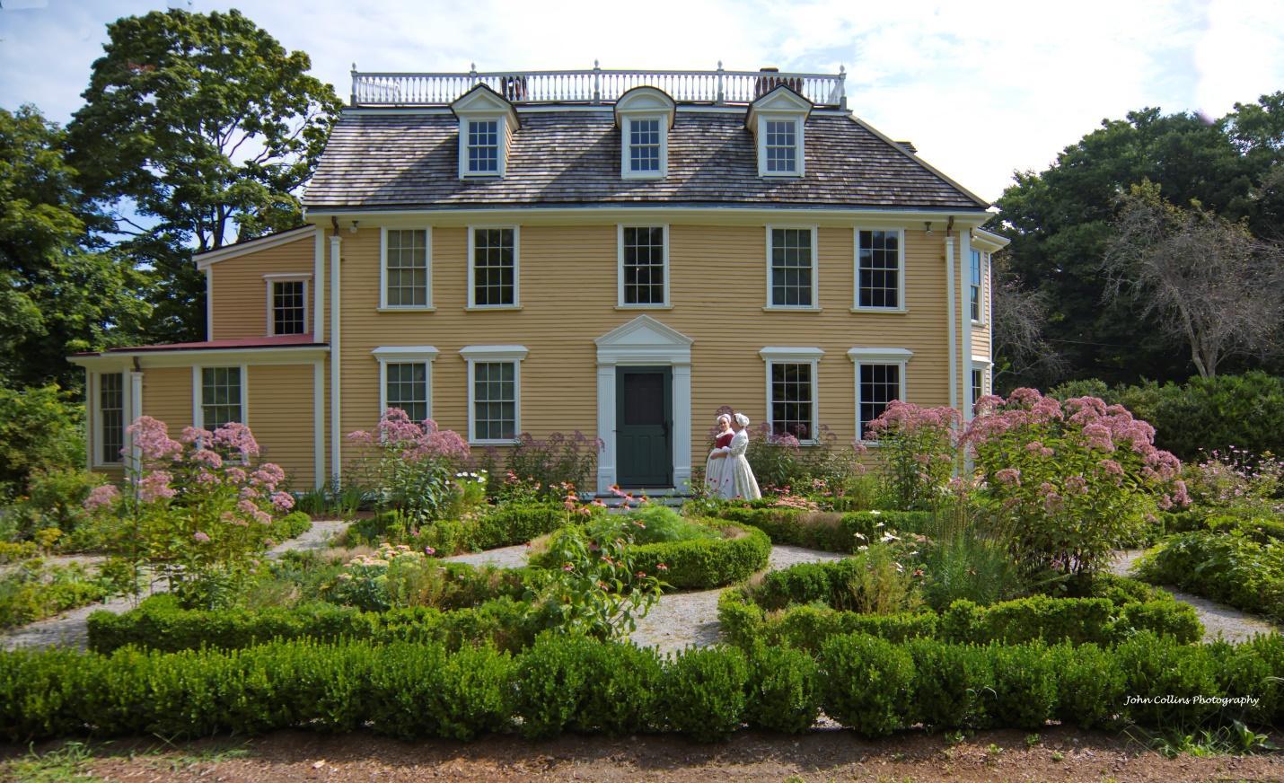 Dorothy Quincy Homestead Outdoor Garden Tours