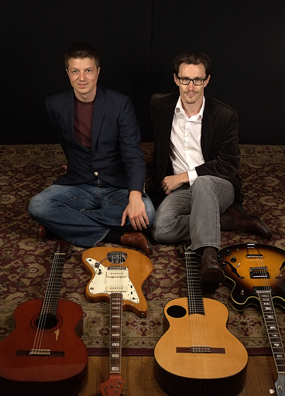 Orpheus Guitar Duo perform at Gore Place