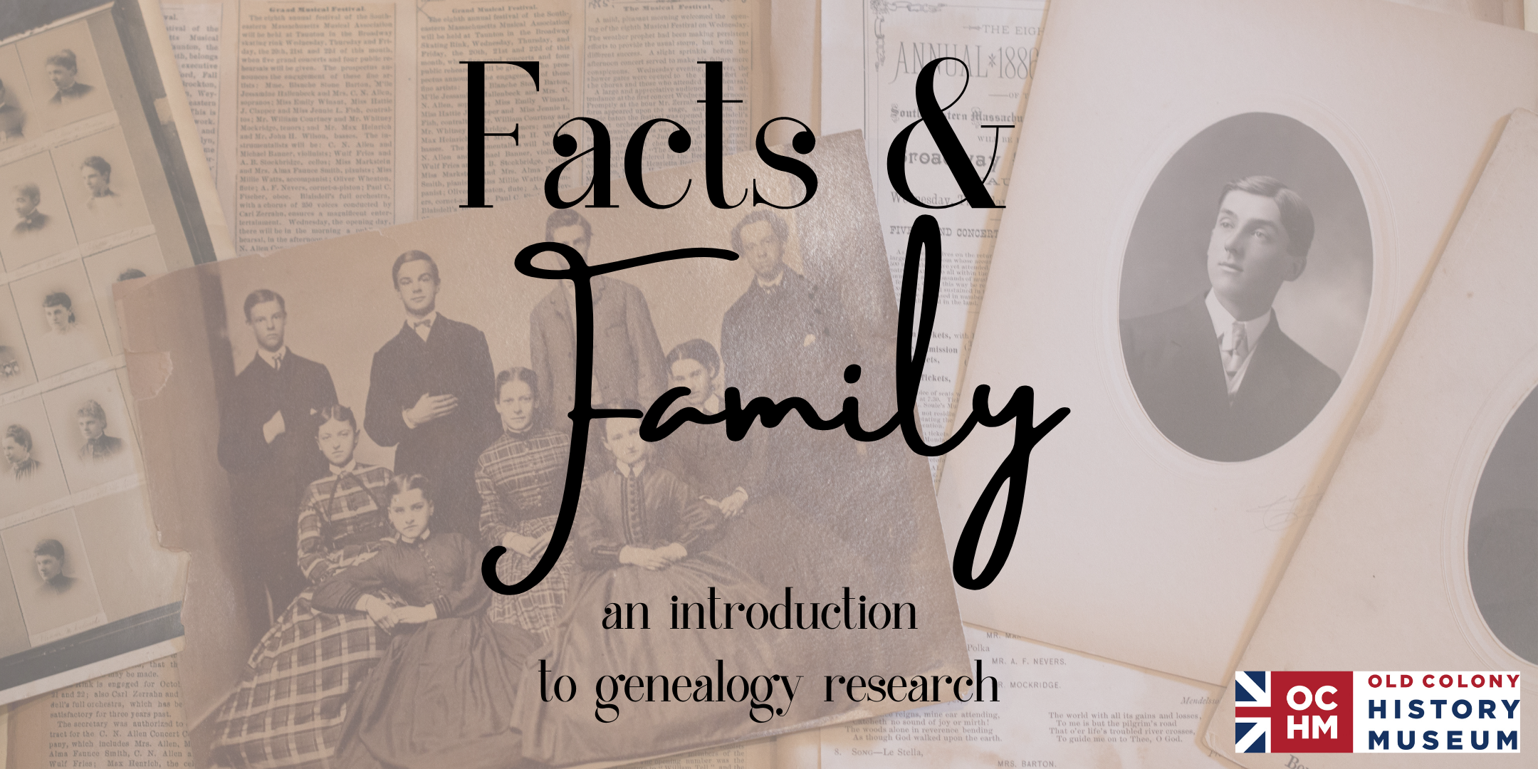 Facts & Family: Introduction to Genealogy
