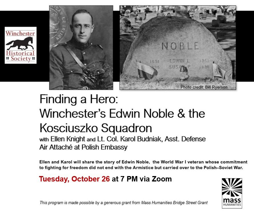 Finding a Hero:  Winchester's Edwin Noble & the Kosciuszko Squad